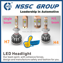 Auto LED conversion kit high power 40w 4000lm one bulb h1 h3 h4 h7 h11 h13 h16 9004 9005 9006 9007 car led headlight