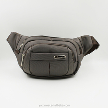 Polyester waist bag with exquisite workmanship for man