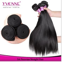 Top sales best quality sliky straight peruvian human hair