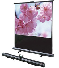 80'' Portable Floor pull up projection screen erport