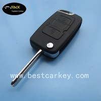Best price 2 button flip key shell for Geely key shell geely key