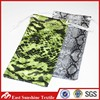 4C Full Color Printing Double Drawstring Microfiber Cell Phone Pouches