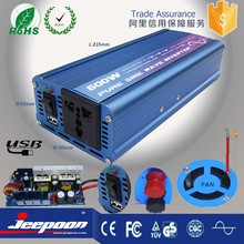 500W Car Vehicle DC 48V to AC 220V power inverter with charger Adapter Converter