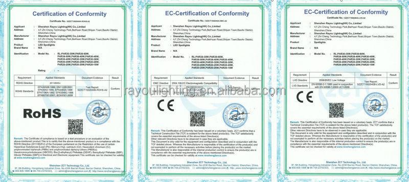 CE-RoHS-Certificated-E27-G12-OSRAM-LED-PAR30-LIGHT-35W-40W