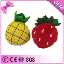 Guangdong Factory Cheap Price Fruit Toys Plush Pineapple Toy