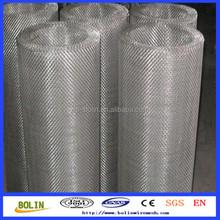 China Supplier stainless steel hexagonal woven stiff mesh fabric