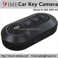 2015 New Arrival fashion design full HD 1080P infrared night vision mini hidden A2 car key camera with remote controlling