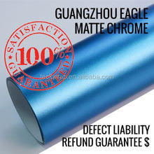 2014 Car Body Protective Matte Chrome Red/ Blue Vinyl Film With 1.52*30M