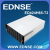 ED424H65-T3-A 24 Hot Swappable SATA/SAS Drive Bay 4U Rack-Mount Computer Server Case with 80mm Fans
