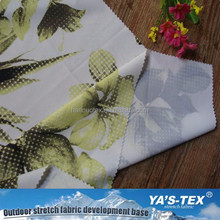 Factory Supplied Digital Printed Available Printed Woven polyester Spandex Fabric/ Colorful Swimwear Fabric