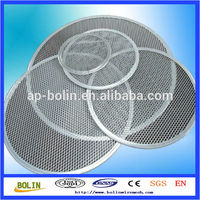 Aluminum & Stainless Steel Round Expanded Screen Pizza Screens