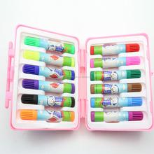 12 colors water color pen for kids,drawing color pen