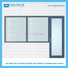 Long service life dressing room alibaba trade aluminum window and door