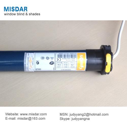 Somfy motorized roller blinds tubular motor for roller for Roller shutter motor price
