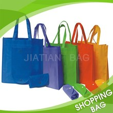 Cheap Recyclable Printed Folding Custom Shopping Bags