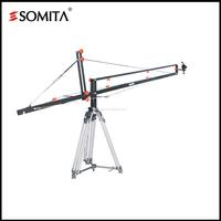 SOMITA professional jib arm with tripod and dolly camera crane jib arm, flexible camera arm