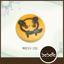 best sell garment button animal painted buttons