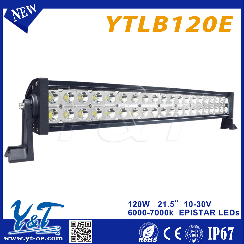 120w battery powered led light bar dot approved led light. Black Bedroom Furniture Sets. Home Design Ideas