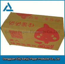 Logistics Packaging Corrugated Carton box manufacture used corrugated carton box making machine