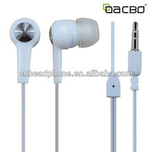 custom stereo earphone reel cable