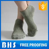 100 percent cotton socks for man , design ankle socks