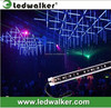 double sides lighting effects dmx rgb led 3D snowfall tube,disco club stage light