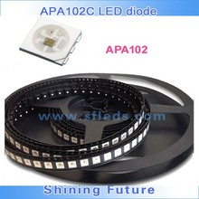 3 chips 5050 led smd build-in APA102 IC