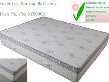 Compressed pocket spring memory serenity mattress