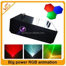 4watt laser light / rgb big power laser moving head light laser 4w rgb