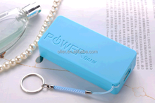 2015 Professional charger promotional cute portable power bank 4400mah for for smartphone external battery