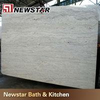 polished brazil river white granite price