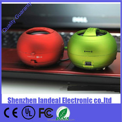Latest X-MINI XMINI xmini mini Capsule Speaker Mini USB Charger Mini Hamburg Speaker Subwoofers 5 Colors