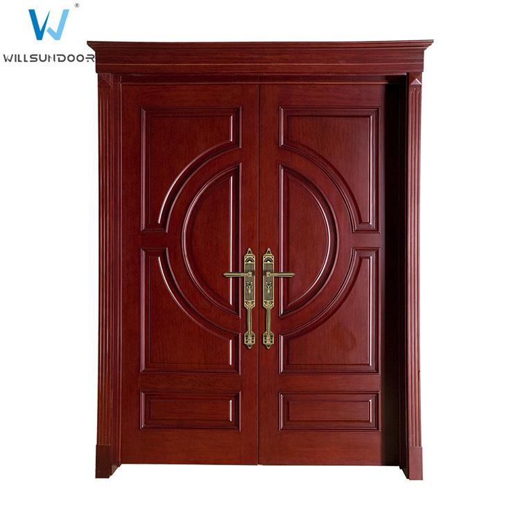 Solid teak wood doors images for Teak wood doors manufacturers
