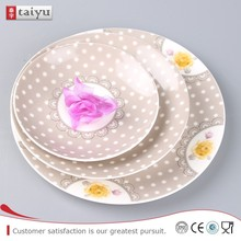 personal design eco-friendly square dinner plate for holiday