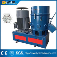 Large capacity plastic film agglomerate machine for plastic recycling