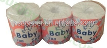 2015 High quality hot selling bathroom roll tissue ,2ply sugar cane bagasse price