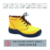 NO.9066-2 women yellow gasoline industry safety shoes