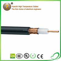 silver plated copper coax cable SFF