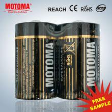 Heavy Duty High Capacity Alkaline Battery D Size LR20