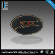 Promotional custom chrome badges emblems for car and motorcycle