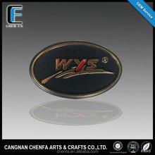 Personnalisé promotionnel chrome insignes emblèmes pour voiture et moto