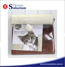 Top quality cardboard cat scratcher,pet toys,sisal cat tree new products 2015