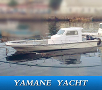 cheap 11m cabin fishing boat with engine for sale now