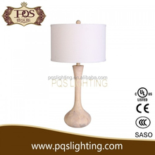 Soild wood clear light popular table lamp in China
