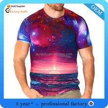 wholesale men all over sublimation printing t-shirt