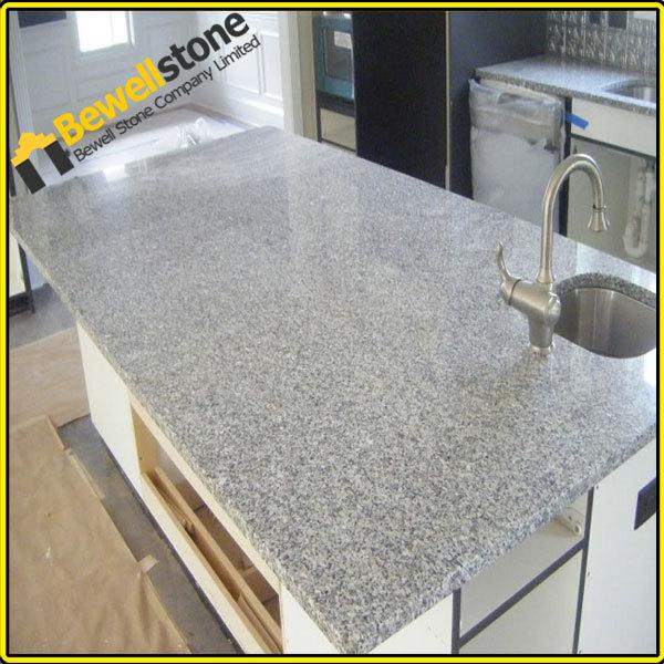 Pedra bancadas da cozinha bancadas em granito cinza cinza for Granito gris cristal