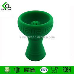 2015 NEW! Silicone Hookah Bowl with Metal Charcoal tobacco molasses flavors