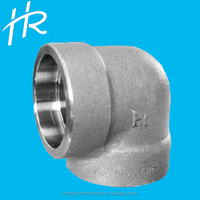 Forged High Pressure Pipe Fittings Socket Weld 90 degree bend