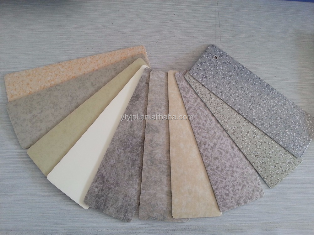 Green And Healthy Pvc Commercial Flooring Sponge Back