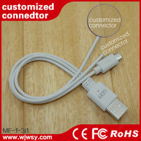 Wholesales Spring USB Cable For iPhone 4 4S 3GS for iPad 1 2 3 For IOS 7 & For IOS 8 30 Pin Retractable Coiled Cable